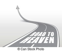 Heaven clipart death  10 3d and sign