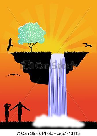 Heaven clipart eden Illustration Eden to Heaven and