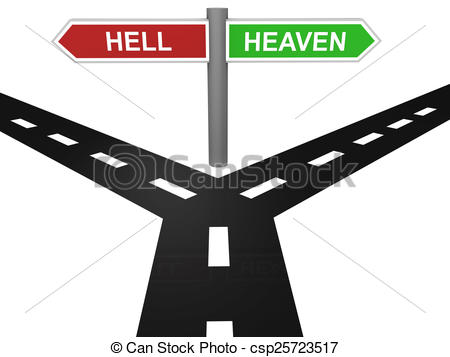 Heaven clipart eternal Will God and those 'bad'