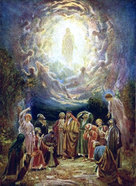 Heaven clipart glorious Ascension Mysteries: The like The