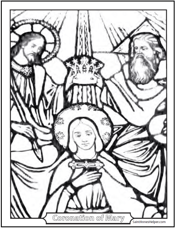 Heaven clipart glorious For Mary The Glorious Rosary