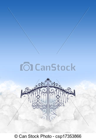Heaven clipart glorious The Gates  gates Art