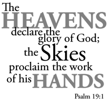 Heaven clipart glorious The heavens declare glory of