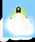 Heaven clipart god Angle vector Faith Heaven Cloud