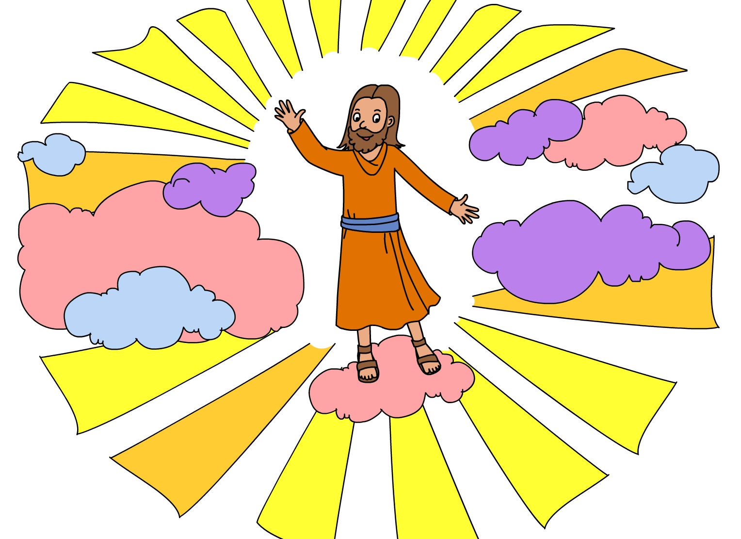 Heaven clipart god Clip to How Clipart Download