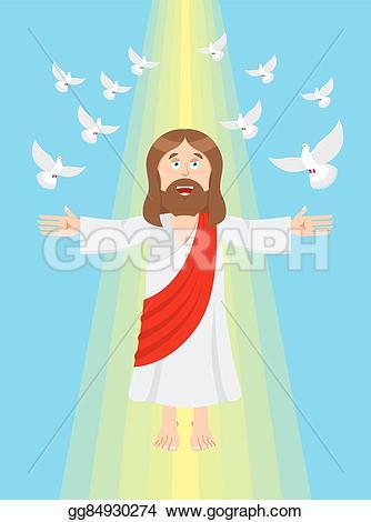 Heaven clipart god Resurrection pigeons and Son Jesus