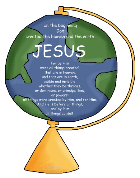Heaven clipart god creation The Barriers Creation BILL PECK