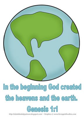 Heaven clipart god creation Bible http://kidsbibledebjackson Kids: is Creation