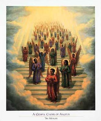 Heaven clipart heavenly angel Angelic African American Church/Inspiration angelic