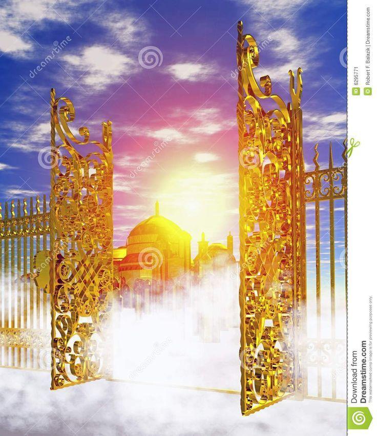 Heaven clipart heaven's gate Heaven heaven's gate Gates Entering