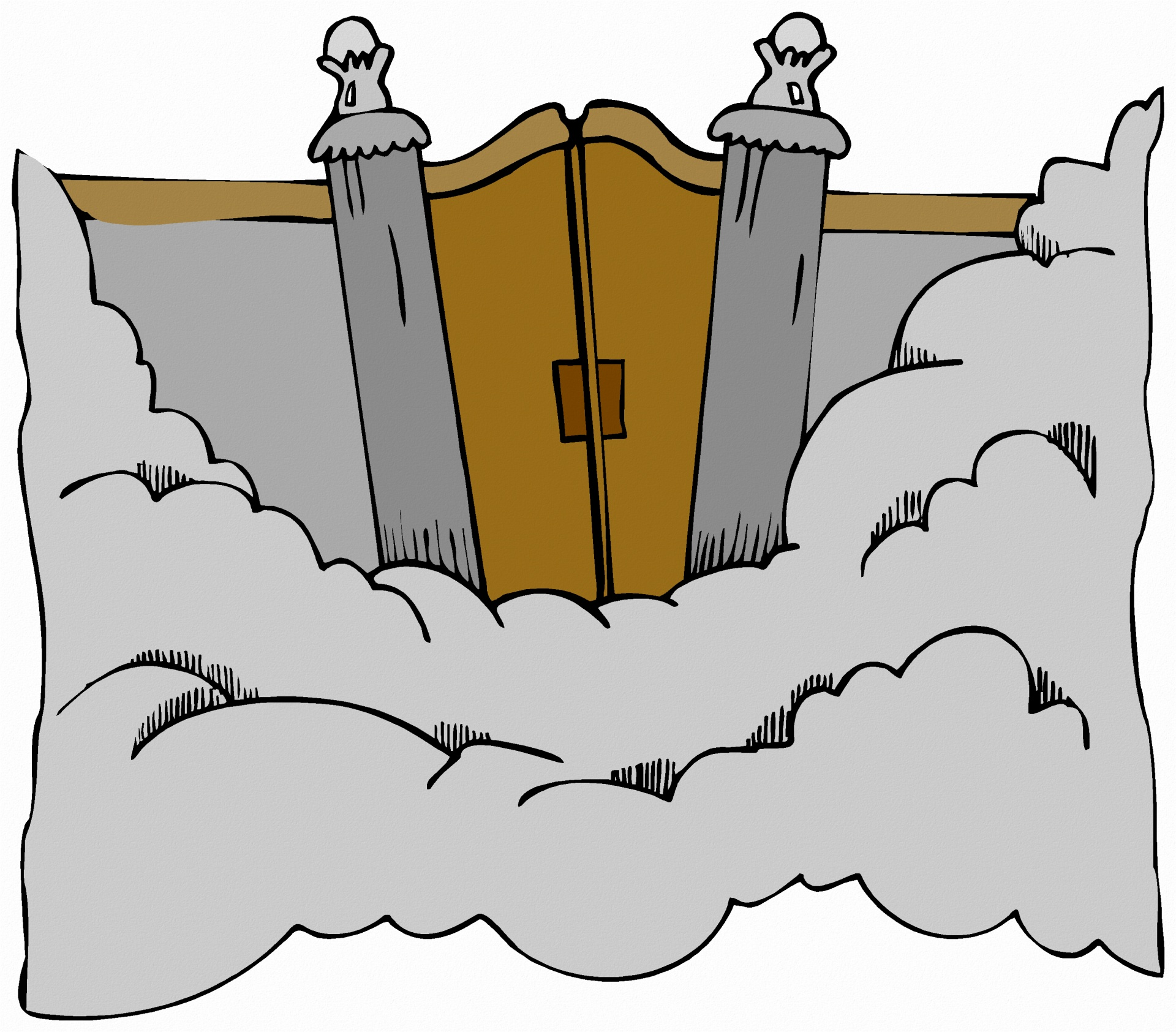 Heaven clipart heaven's gate Heaven's Free Stock Pictures Domain