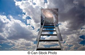 Heaven clipart jacob's ladder Art  heaven 9 in