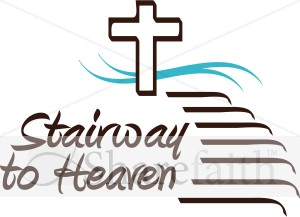 Heaven clipart jacob's ladder Word Inspirational to Stairway Art