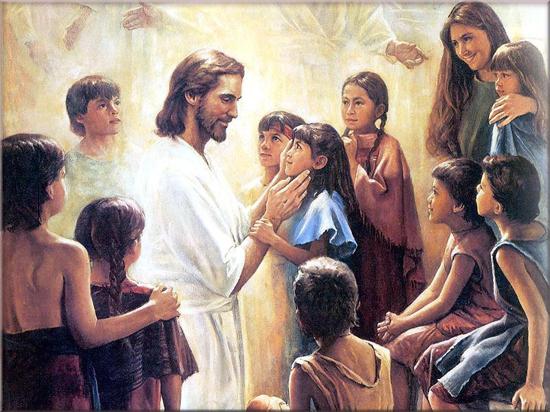 Heaven clipart jesus child Children With pic nice with