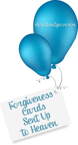 Heaven clipart jesus forgiveness Forgiveness craft Cards Bible Heaven