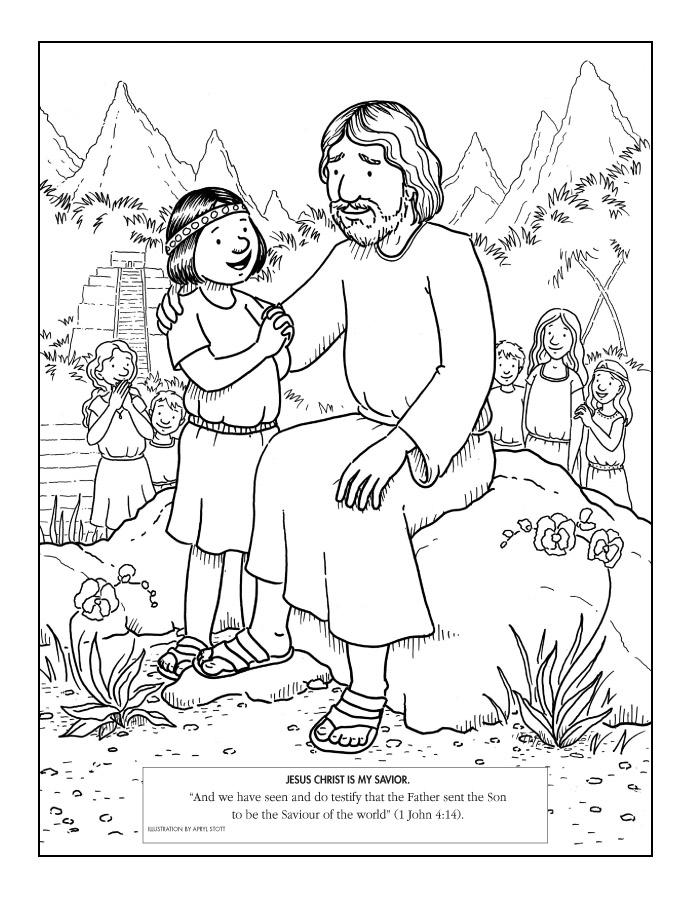 Heaven clipart jesus me Pages Jesus Coloring a Coloring