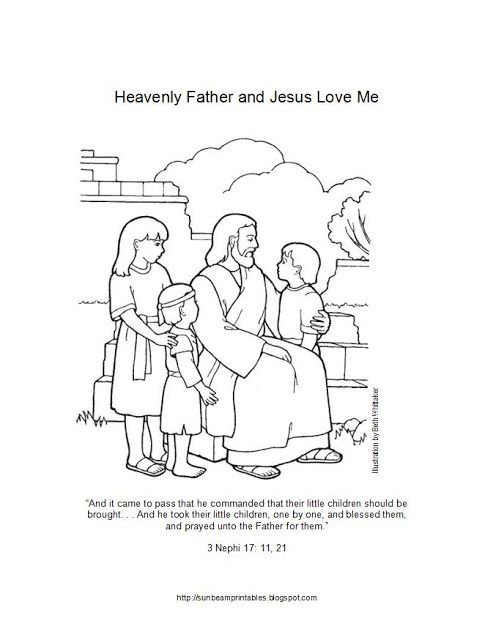 Heaven clipart jesus me Allow Love LDS 214 Jesus