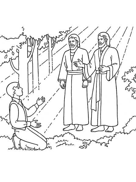 Heaven clipart joseph father jesus And Vision: First Jesus Christ