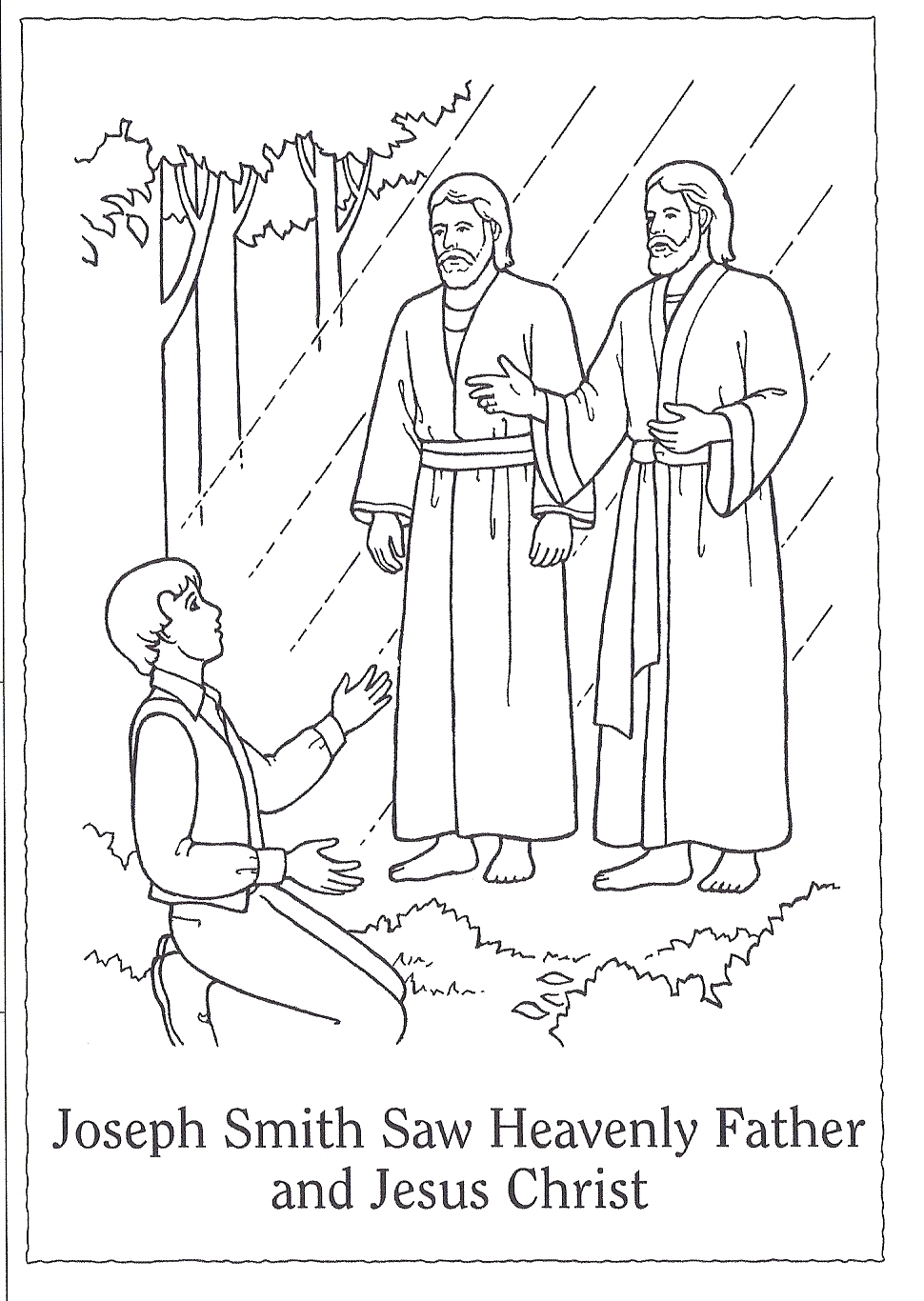 Heaven clipart joseph father jesus Restoration smith  image printable