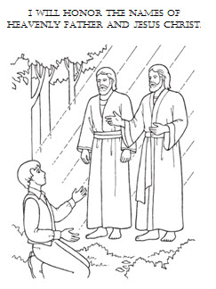 Heaven clipart joseph father jesus Smith Lds father (44+) coloring