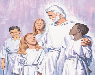 Heaven clipart lds Lived heaven song in