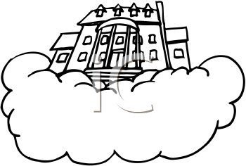 Heaven clipart mansion Clipart Heaven Royalty Free Clipart