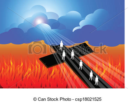 Heaven clipart natural Of Vector csp18021525 to road