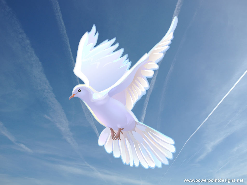 Heaven clipart peaceful Of Dove power  quickening