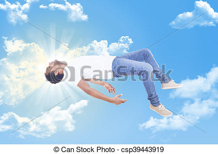 Heaven clipart photography Man to ascending Interracial