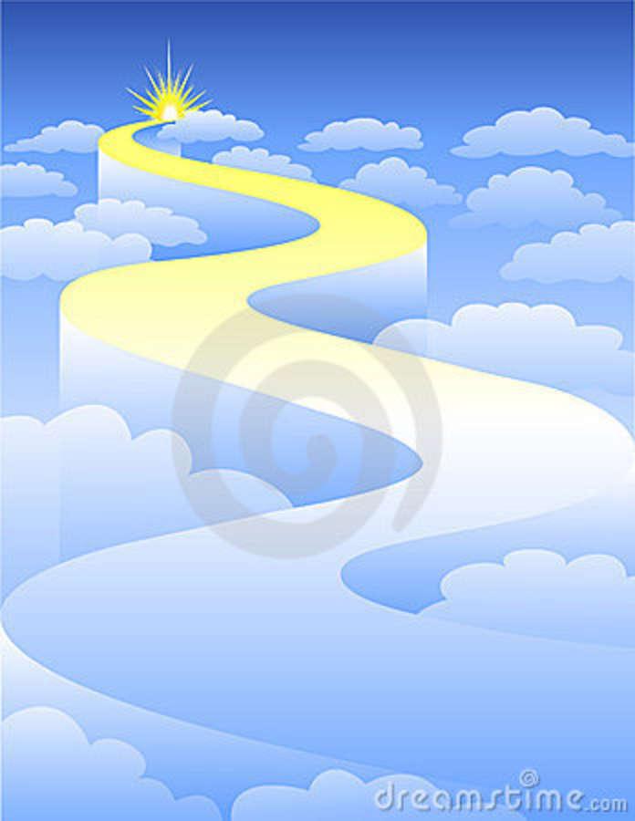 Clip Road Heaven Art to