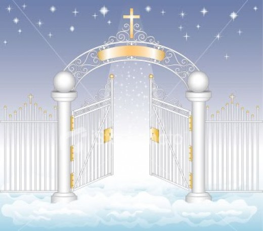 Heaven clipart place Gate to Do Happens You