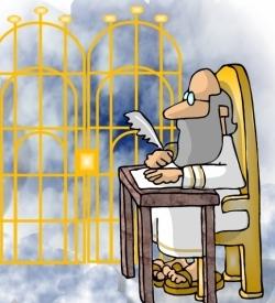 Heaven clipart saint peter The St TGC Little Heaven