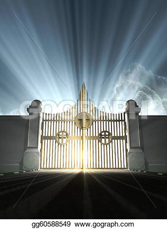 Heaven clipart school gate  Clipart Gates Of Open