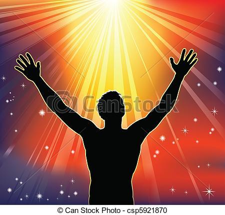 Heaven clipart spiritual Arms Vector A with