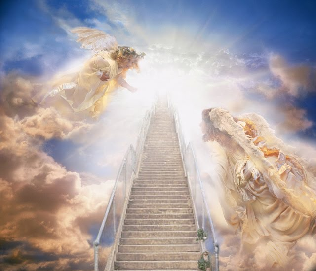 Heaven clipart staircase Into jesus heaven of in