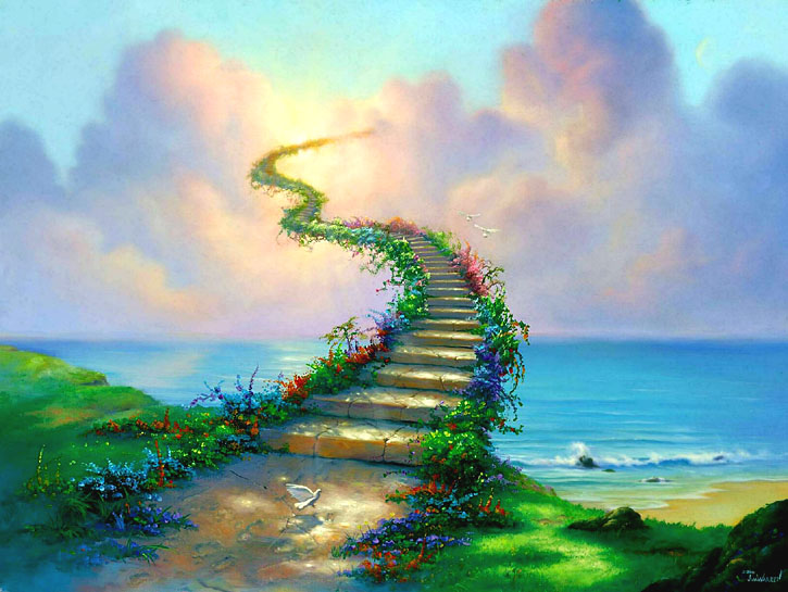 Heaven clipart staircase : Stairway to Heaven