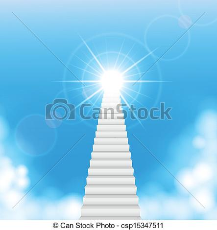 Heaven clipart staircase  stairway stairs of Stairway