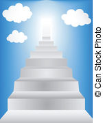 Heaven clipart stairway to heaven With  royalty Stairway Stairway