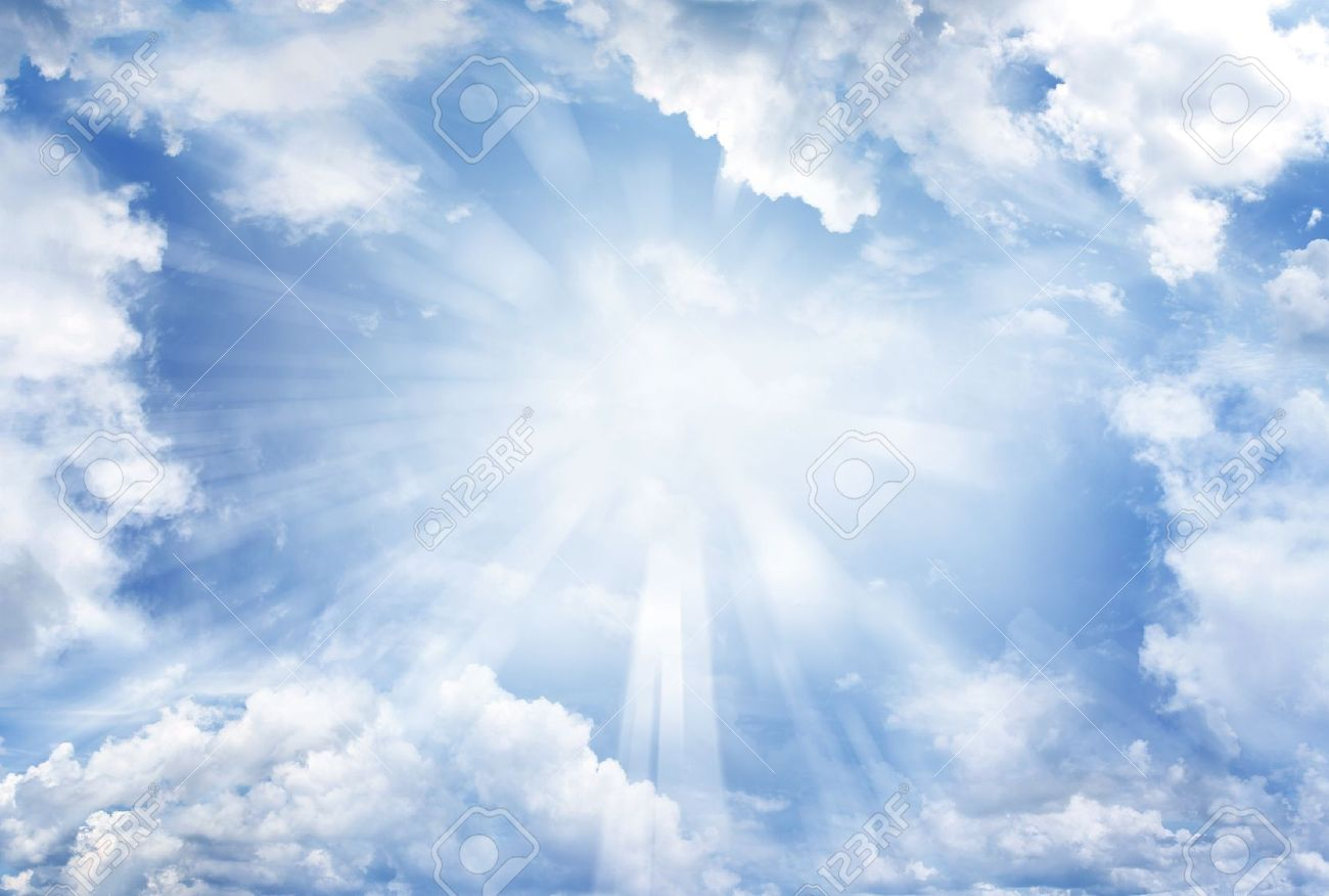 Heaven clipart sun cloud Clipart clouds sun heavenly Clouds
