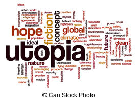 Place clipart utopia Word Utopia Stock cloud EPS