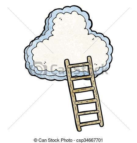 Heaven clipart vector Of ladder heaven Vector to