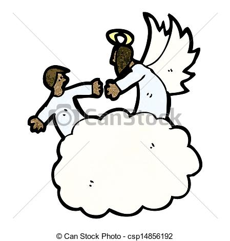 Heaven clipart vector Cartoon in Search Vector heaven