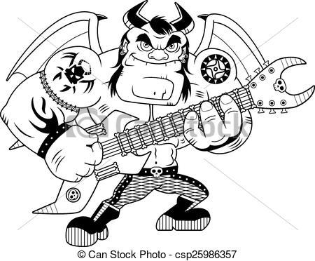 Heavy Metal clipart Heavy Cartoon Clip csp7403926 Heavy