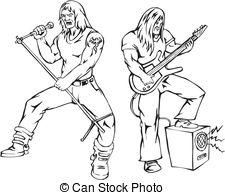 Heavy Metal clipart Graphics Heavy Vector EPS metal