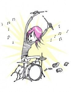 Heavy Metal clipart drummer Heavy Drummers and rock Heavy