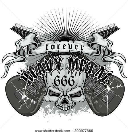 Heavy Metal clipart fake metal Design best METAL about on