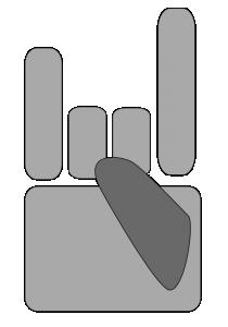 Heavy Metal clipart hand Download Art Heavy Metal Hand