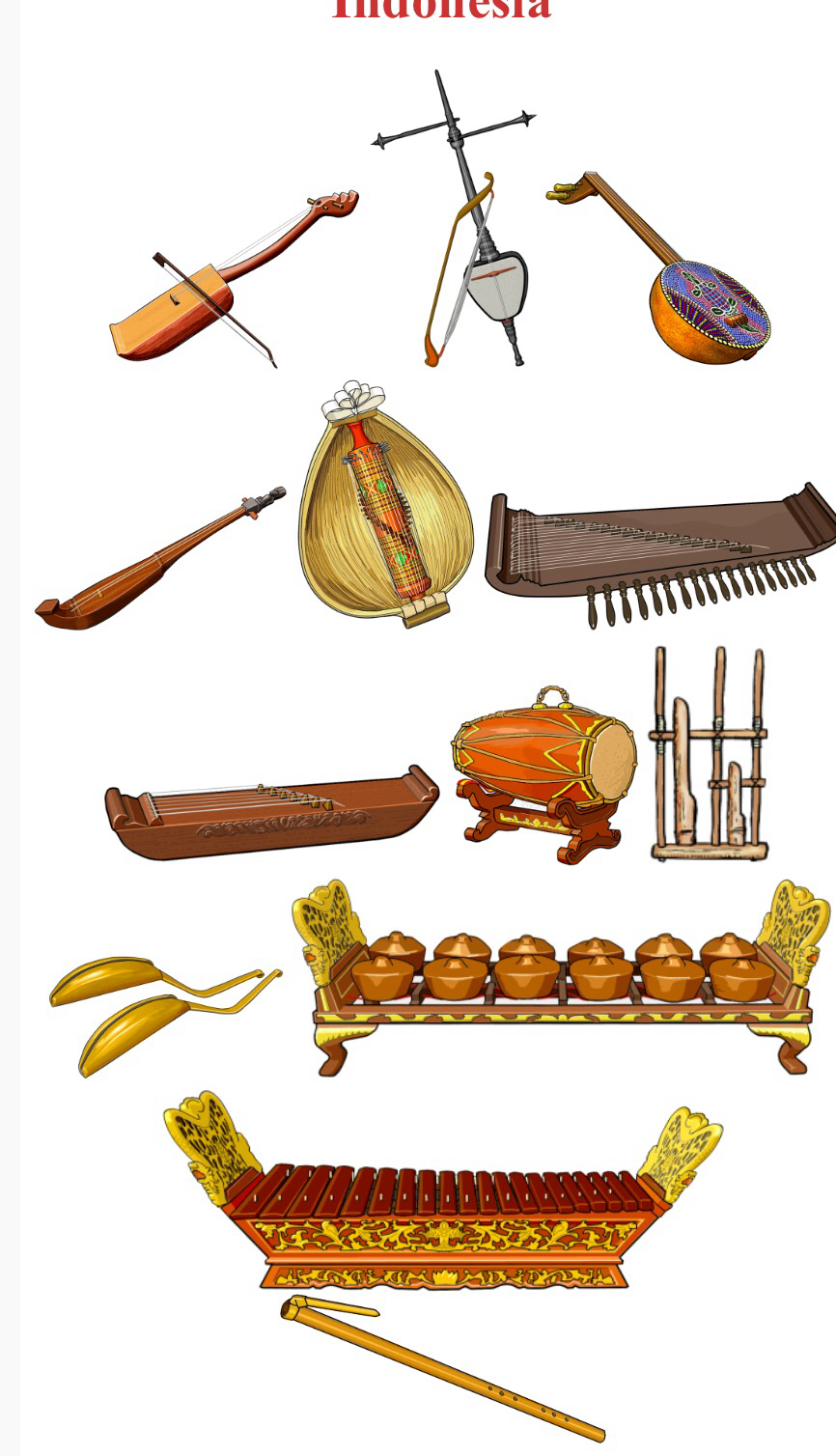 Heavy Metal clipart indian music instrument 1 left Up/Down INDONESIA right