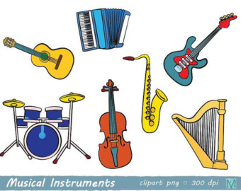 Heavy Metal clipart indian music instrument Digital Clip Instruments Musical images