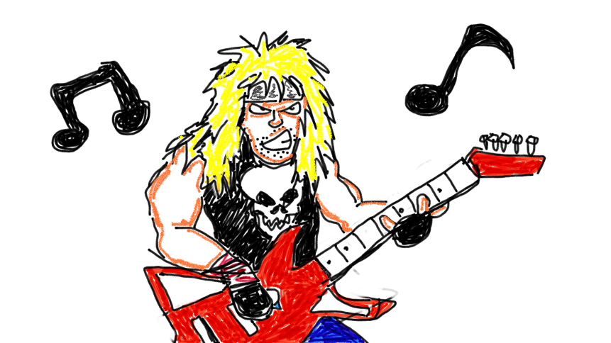 Heavy Metal clipart love music #5